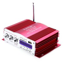 2016 New Kentiger 2008 Failure Memory Function IR Control FM 87.5 - 108MHz MP3 USB Power Audio Professional Amplifier Recommend(China (Mainland))