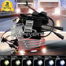 Buy SPEVERT Car Headlight 100W HID BALLAST H4 H1 H7 H3 H8 H9 H11 9005 HB3 H10 9006 HB4 HID Conversion Xenon KIT Headlight Ballast for $48.61 in AliExpress store