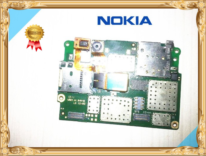 International language!Good quality Original Motherboard With cable For NOKIA Lumia 720 free shipping