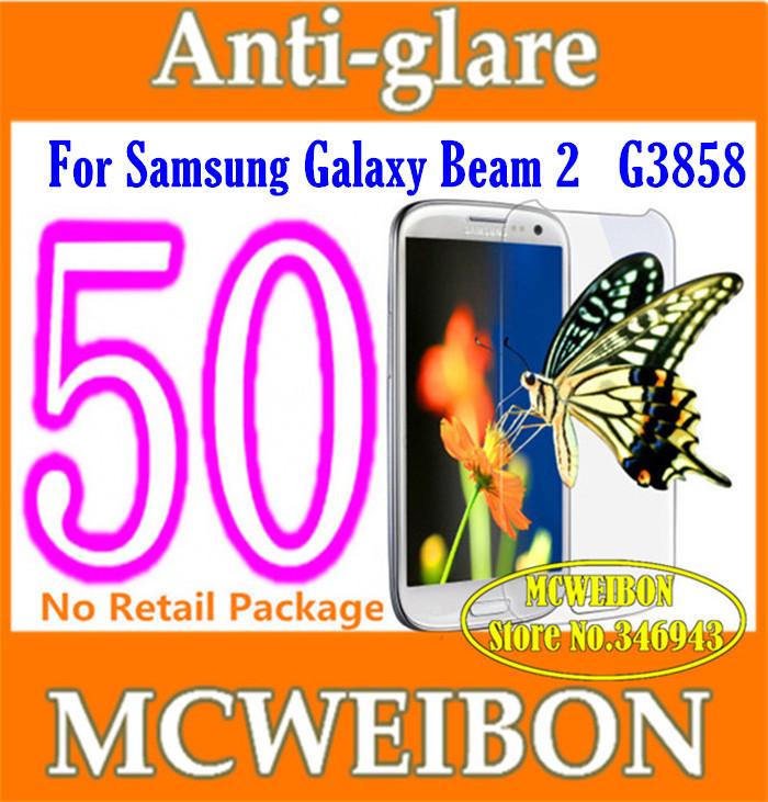 Защитная пленка для мобильных телефонов Samsung 2 G3858,  50pcs/lot защитная пленка liberty project защитная пленка lp для samsung b7610 матовая