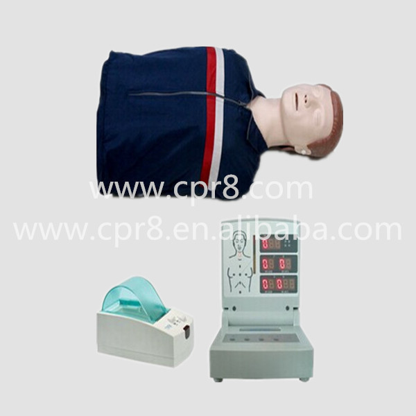 BIX-CPR260 Half-body computer CPR Training Manikin, computer adult half body CPR manikin model(China (Mainland))