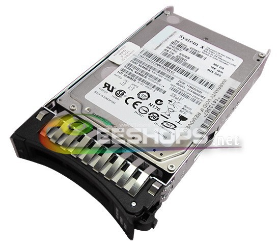 for IBM X3550 X3500 X3400 M2 Server Computer 300GB 10000 RPM SAS 16MB 6GBPS 2.5 Inch SFF Hot-Swap Internal Hard Disk Drive Case(Hong Kong)
