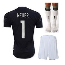 2016 KIT germany soccer jerseys high quality Thai white home away black Schweinsteiger Gotze KROOS MULLER Ozil football shirts(China (Mainland))