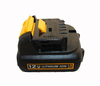 Li-ion Battery Pack 12V 1500mAh for Dewalt Power Tool DCB120(China (Mainland))