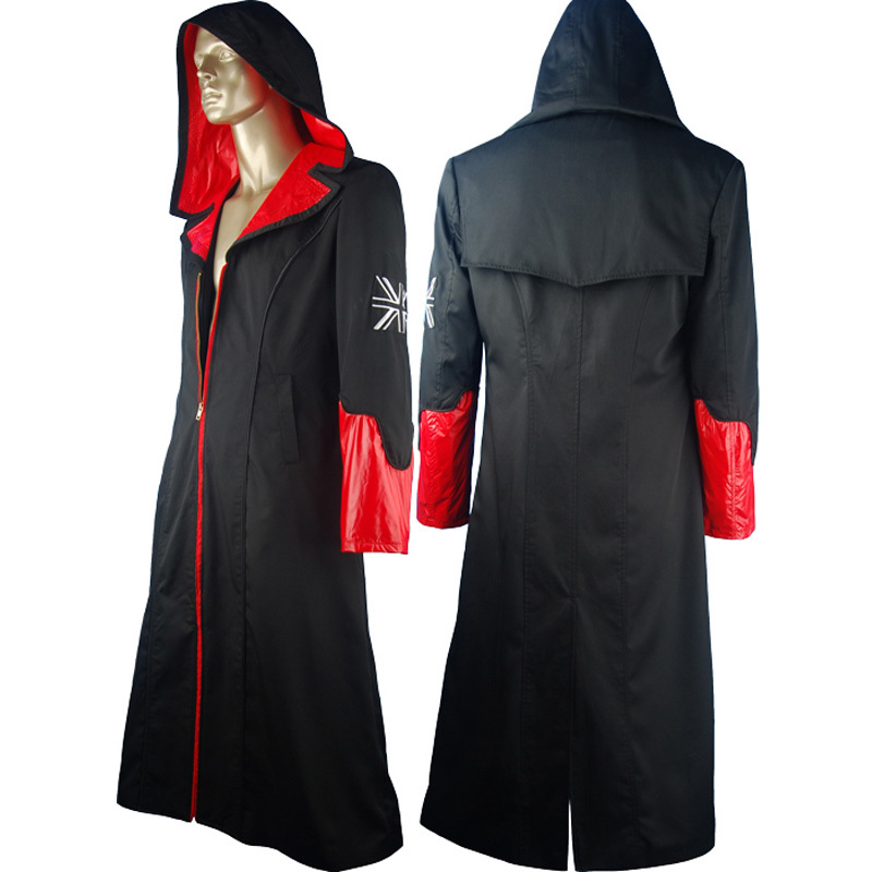 DMC: devil may cry 5 dante cosplay costume outfit coat halloween costume carnival costume Sci-Fi video game costume comic-con