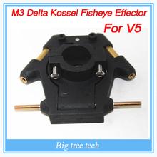 M3 Delta Kossel Fisheye Effector For V5 with Leveling Hammock 3MM High strength nylon For 3D Printer Accessories