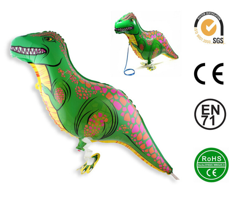 Dinosaur balloon walking balloon animals inflatable air ballon for dinosaur party supplies 90X40CM kids classic toy(China (Mainland))