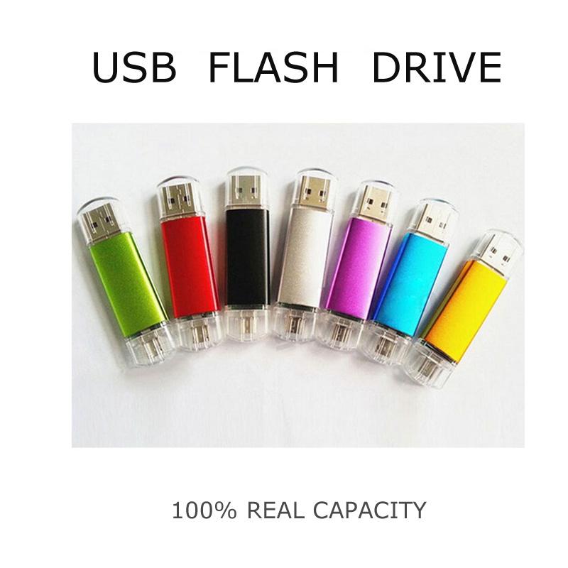 New Smart Phone Tablet PC USB Flash Drive 32GB 16GB 8GB 4GB pen drive OTG external storage U Disk memory stick usb 2.0(China (Mainland))