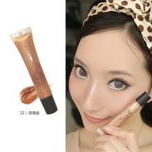 Brand  Diamond Sand Gold Liquid Lipsticks Nude Lip Gloss Makeup Matte Lipstick Moisturizer Nutritious Lips  M01728(China (Mainland))