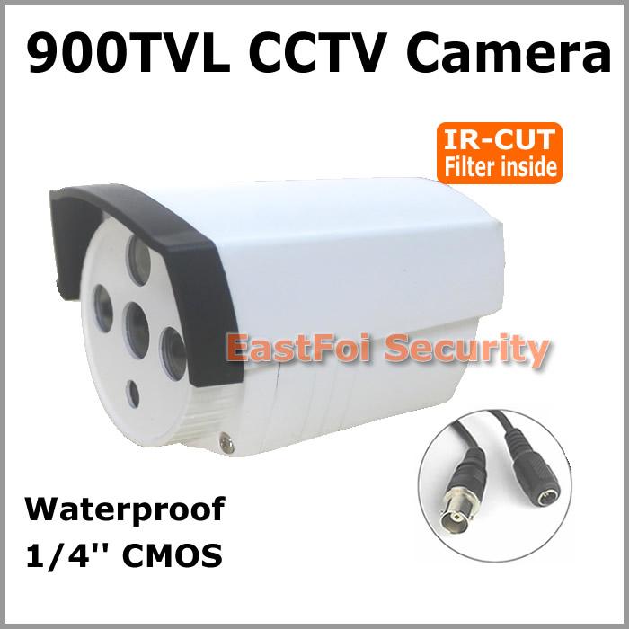 Top quality! 900TVL 1/4''CMOS 3units array IR leds light security camera IRCUT Filter Waterproof CCTV Camera work indoor outdoor(China (Mainland))