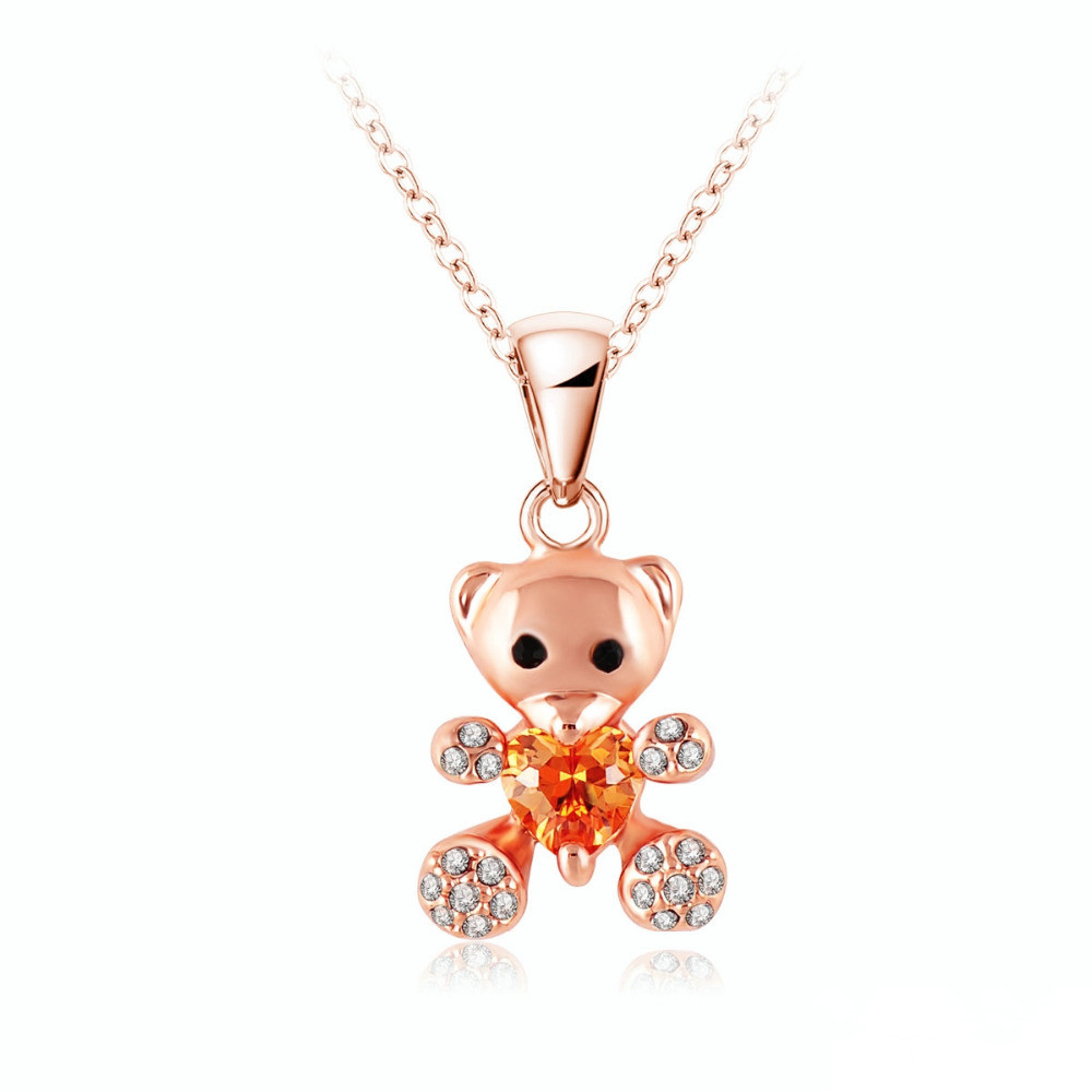 newest necklaces 2015 fashion animal pendant necklace 18k