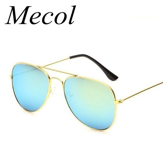 2016 горячей мода девушки мальчик отражающей солнечные очки солнцезащитные очки детские солнцезащитные очки ребенка 100% UV400 Gafas óculos De Sol Sg121