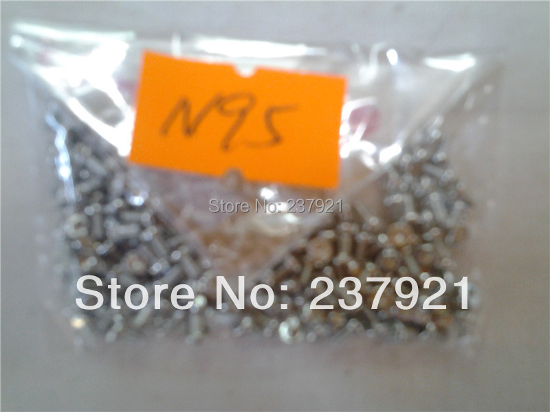 (NA8C1632N95)(200PCS/Lot by AM)100% Quality Guarantee for Nokia N95 Screws 1.6X3.2MM T5 White(China (Mainland))