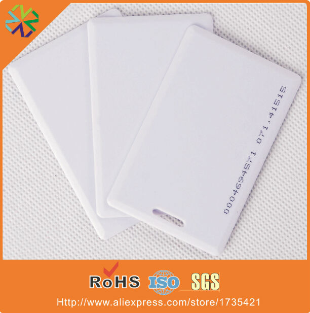 free shipping plastic pvc smart card 125khz Tk4100 blank smart card<br><br>Aliexpress