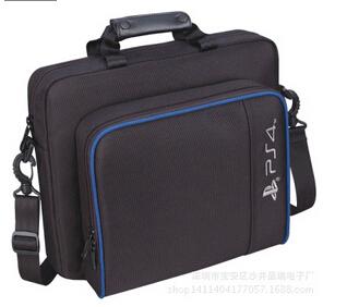 Travel Carry Protective Shoulder Bag Case Cover for PS4 slim Console Shoulder Bag