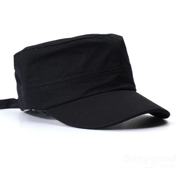 HotHeart Korean Fashion Flat Cap For Men & Women Outdoor Army Hat Baseball Cap(China (Mainland))