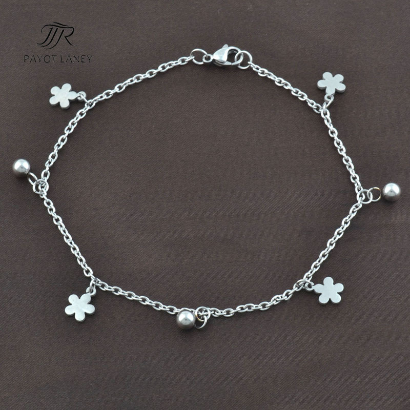 Stainless Steel Anklet Bracelet Chain Foot Jewelry Ankle Bracelet Anklet-5(China (Mainland))