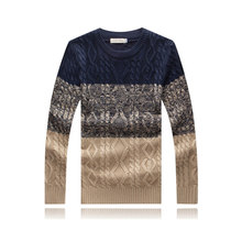 2016 Spring Sweater Men Pullovers England Style Casual Knitted Sweater Knitwear Plus Size Fall Long Sleeve Pull Homme M-3XL(China (Mainland))