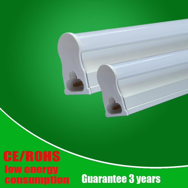 5pcs/lot LED Integrated Tube T5 1200mm/4ft 600mm/2ft 10w 18w SMD2835 AC85-265V led tube light warmwhite/coolwhite Free shipping(China (Mainland))
