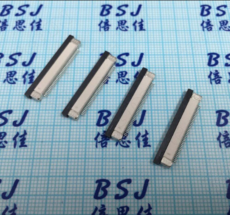500pcs   40P 2.0H FPC/FFC Flat Connectors Cable 0.5mm Pitch 50Pins Socket Drawer Type Ribbon Flat Jacks Hihg Quality<br><br>Aliexpress