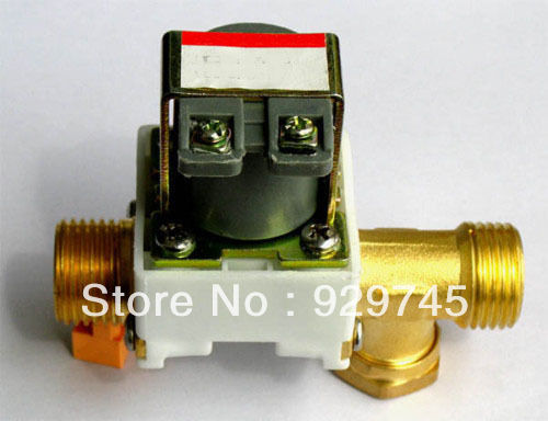 "1pc New Electric Solenoid Valve Water Air N/C 24V DC 1/2""(China (Mainland))"