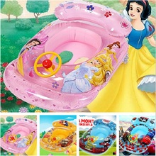 Inflatable Pool float Baby Swimming Ring Baby Float Seat Pool Seat Floats For Swimming Pool Baby Swimming Accessories 6 Colors