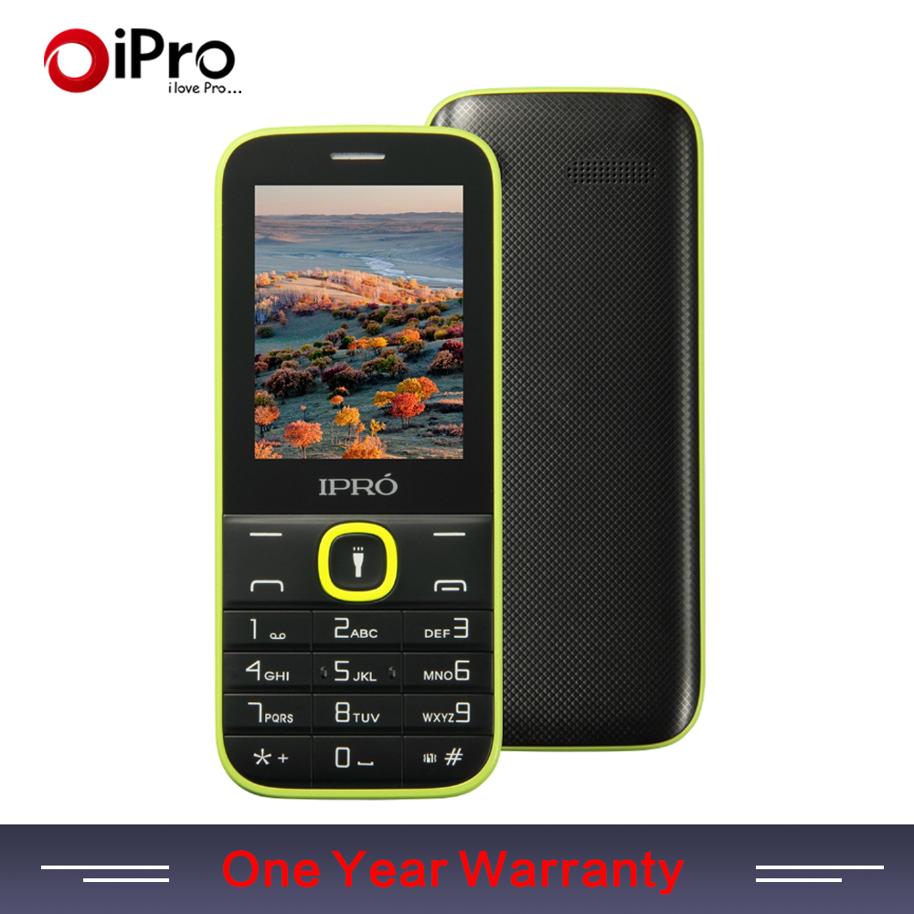 "Original IPRO I324F 2.4"" Dual SIM GSM Unlock Mo bile Phone With English Portuguese Spanish Cheapest Telephone Mother's Day Gift(China (Mainland))"