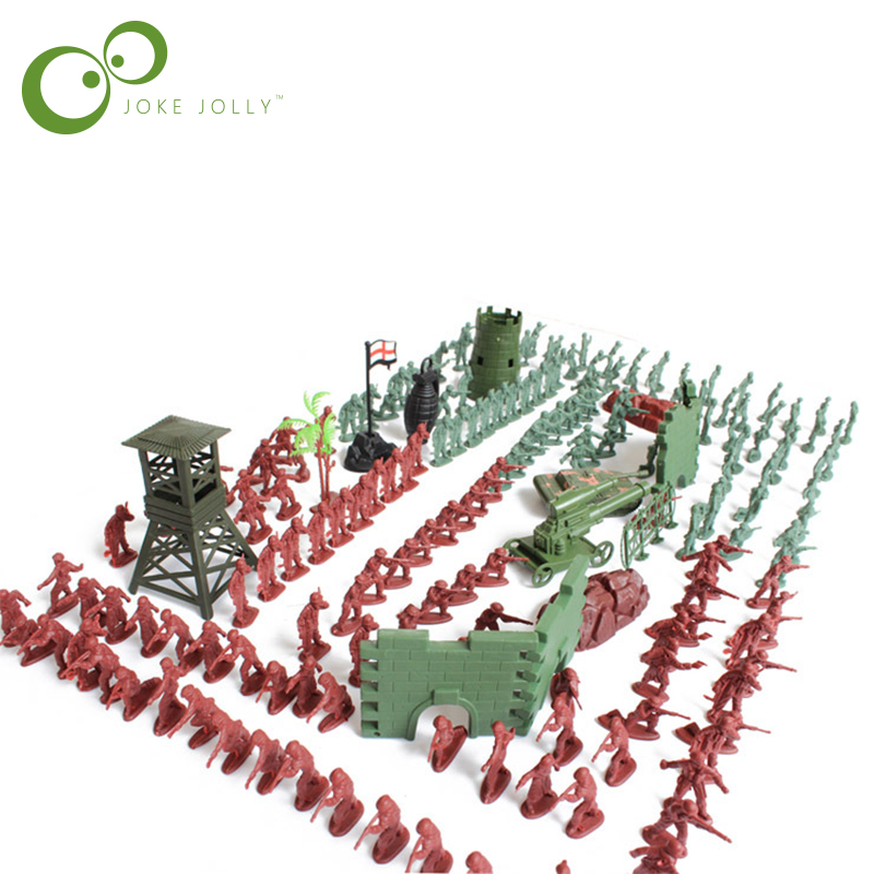 238pcs/set 1:72 lifelike mini military equipment plastic soldier model toys for boy best brinquedos gift for kids GYH(China (Mainland))