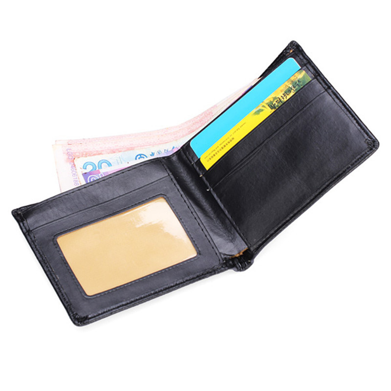 Hot Sale Casual Wallets For Men New Design GOOD Leather Purse Man Wallet With Coin Bag Fine Workmanship 22x9.5cm(China (Mainland))