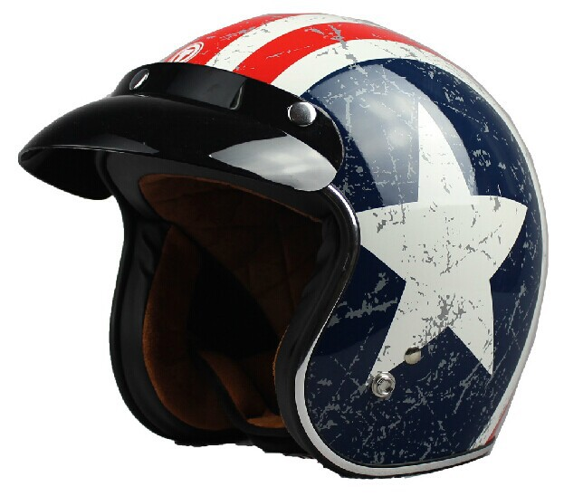 casque de moto vintage jet casque cascos moto racing avec l 39 am rique toile d coration super. Black Bedroom Furniture Sets. Home Design Ideas