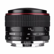 Buy MEIKE MK-6.5mm F2.0 Fisheye Lens Canon EF-M Mount Lens Camera for $134.99 in AliExpress store