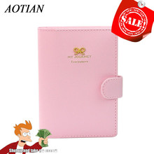 Buy Passport Holder Cover brand women men PU Leather ID Card Bag passport Pouch Package passport Cover Travel passport bag D45Ma6 for $1.42 in AliExpress store