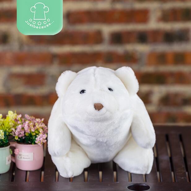 Plush doll toys baby gift Teddy Bear Panda Polar Bear one piece(China (Mainland))