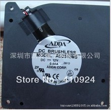 Used Free Shipping DC12V 0.6A Server Cooling Fan For ADDA AD2512MS 28017 Server Blower Fan 120x120x32mm 2-wire
