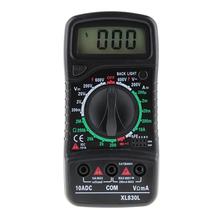 Buy LCD Digital Multimeter Voltmeter Ammeter Ohmmeter Universal AC/DC/OHM Volt Current Tester Portable Meter for $4.59 in AliExpress store