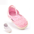 Baby Shoes Newborn Breathable Sapatos Infantis Menina 2016 New Crochet Baby Shoes Soft Bottom Indoor Baby