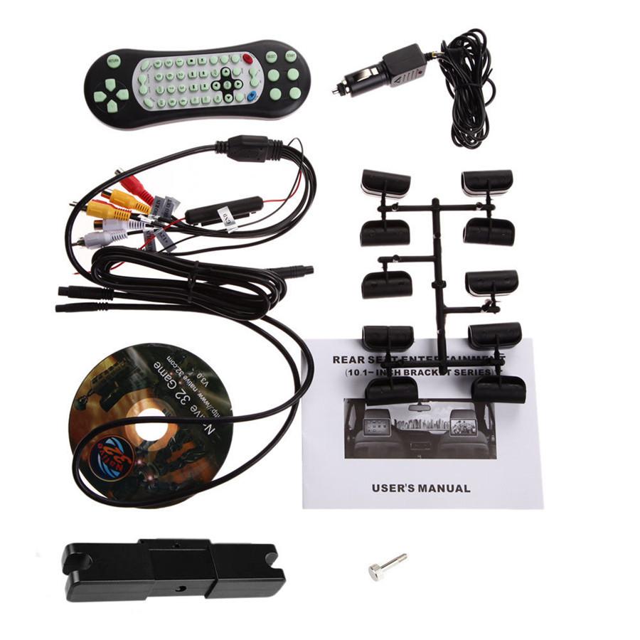 universal 10.1 inch HD digital touch screen headrest car Auto dvd player 1024*600 HDMI thin USB SD FM IR HDMI car monitor
