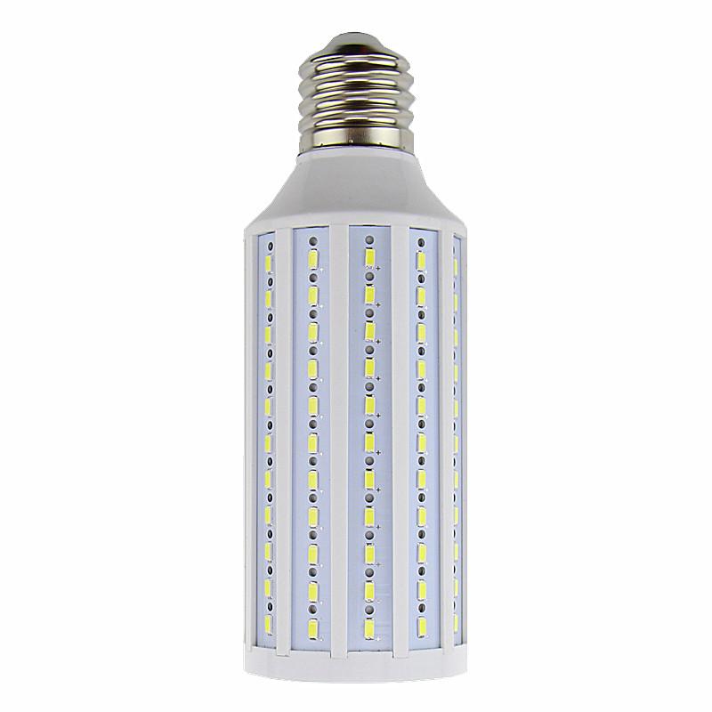 High luminous 4300 LM 50W LED bulb E40 LED Light 165 LEDs 5730 SMD LED Corn Lamp AC110/220V Warm White/ White free shipping(China (Mainland))