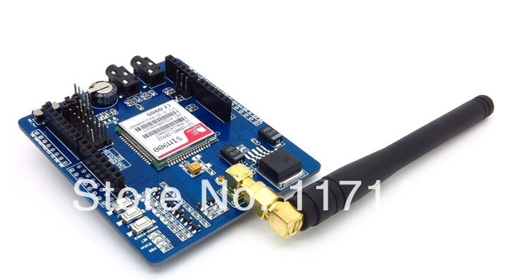 Factory price SIM900 Quad band Wireless GSM/GPRS Shield Development Board( Iduino/a-rduino) - JIN HONG INTERNATIONAL Co.,Ltd shops store