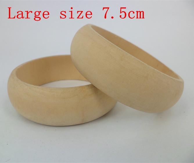 2 5cm width wholesale unfinished wooden bangle bracelet for Wooden craft supplies wholesale