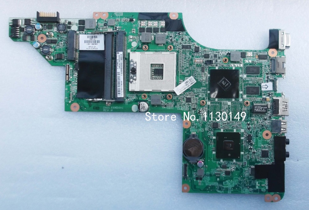 laptop motherboard for HP DV6 DV6-3000 series 630280-001 DALX6MB6H1 HM55 ATI Mobility Radeon HD 5470 DDR3 Mother Borads(China (Mainland))