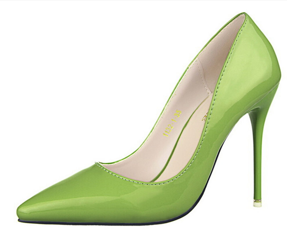 Women High Heel Shoes Pointed Toe Sexy High Heels Thin ...