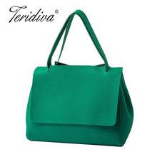 Buy Teridiva Brand Famous Designer Womens Handbags Pu Leather Green Shoulder Bags Women Handbags Tote Bags Korean Handbag Bag Ladies for $17.87 in AliExpress store