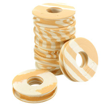 NEW 60pcs/lot Outdoor Fishing line Circular Winding plate foam Board Fishing Lure Trace Wire Leader Swivel Tackle(China (Mainland))