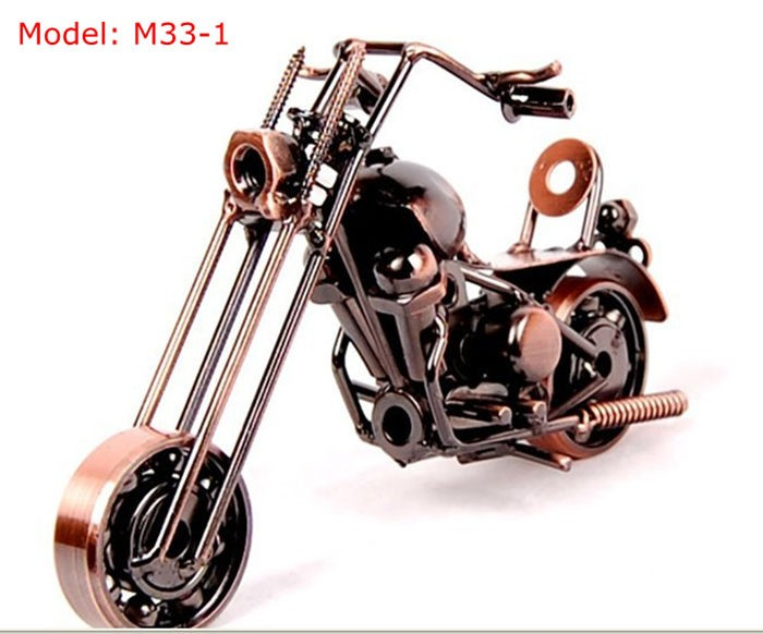 Beautiful Mini Metallic Mannequin Bikes 2Color Iron Bike Fashions Toy Boys Items Youngsters Toys Wheel might be Moved