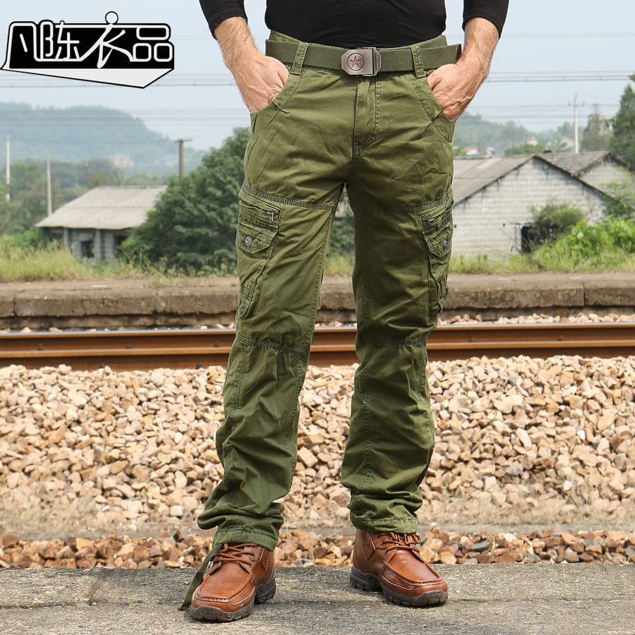 Men Military multi pocket cargo pants autumn winter warrior male tactical pants swat outdoor sports hiking training trousers