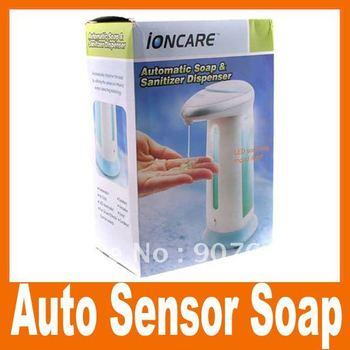 Free Shipping,Hot sell ! Automatic Sensor Soap Cream Dispenser Auto Touchless, 5pcs/lot,  Wholesale