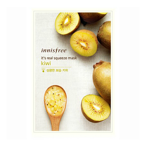 20ml natural essence kiwi face mask from Korea brand innisfree 2014 new package ! facial mask(China (Mainland))