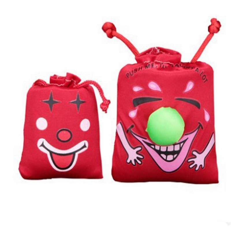 1piece Funny creative Tricky whole person Funny Funny novelty toys Music Laughing Bag Haha Bag(China (Mainland))