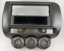 One / Double Din Facia for Honda Jazz Radio DVD Stereo CD Panel Dash Mounting Installation Trim Fascia Kit Face Frame Bezel(China (Mainland))